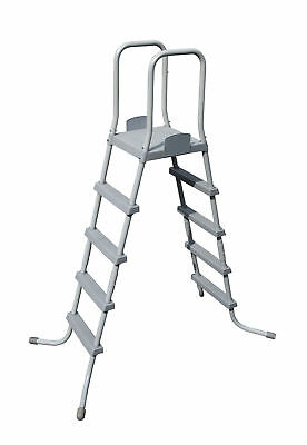 """Bestway 52"""" Ladder for Above Ground Steel Frame and Fast Set Swimming Pools"""