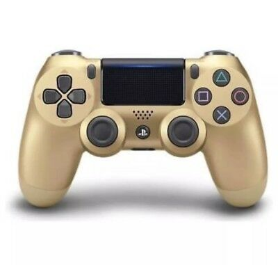 Official Dualshock 4 Controller (GOLD) (PS4) New & Sealed