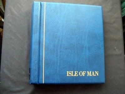14122aj ISLE OF MAN c1995-2004 MINT STAMPS & MINISHEETS COLLECTION IN KABE ALBUM