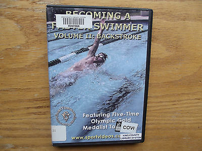 Becoming a Faster Swimmer, Vol. 2: Backstroke (DVD, 2005) Tom Jager