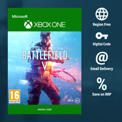 Battlefield V 5 Xbox One Deluxe Edition (Digital Download) Instant Delivery