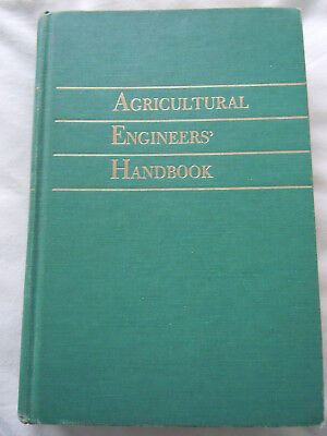 @Vintage Agricultural Engineers Handbook 1961 HB Book @
