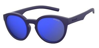 Occhiali da sole Sunglasses Polaroid PLD 8019 CIW JY BLU 100% INDEFORMABILE KIDS