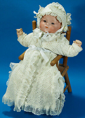 Alte Dream Baby Porzellan-Puppe Armand Marseille.Antique porcelaine bisque doll