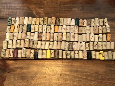 Package Of 144 Assorted Printed Wine Corks, Stoppers, Craft, Wine Craft