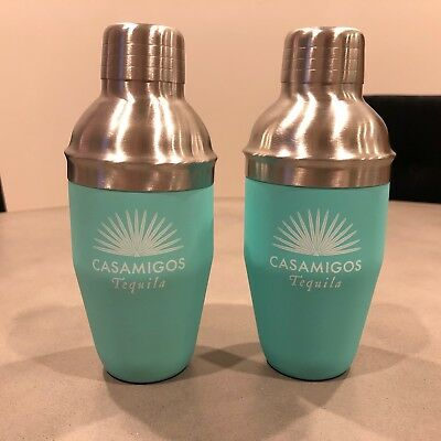 Casamigos Tequila Drink Shaker (Lot of 2) NEW