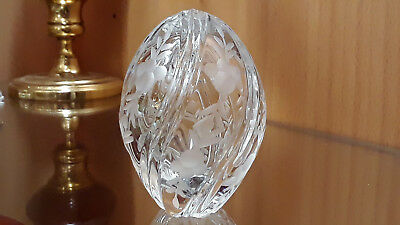 Crystal Faberge Egg Signed & Numbered