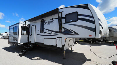2019 Forest River Sabre 30RLT Rear Living Triple Slide 5th Wheel
