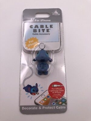 Disney Store Japan: iPhone Cable Bite: Cable Accessory: Stitch (F3)
