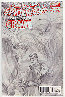 AMAZING SPIDER-MAN #1.2 Alex Ross 1:200 Sketch Variant