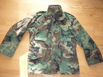 M65 Field Jacket  woodland camouflage US Army Cold War Reforger Multicam Large