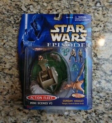 Gungan Assault 1999 STAR WARS Micro Machines Action Fleet Mini Scenes #3