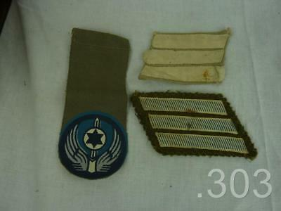 Israel Defense Force IDF Army / Air Force Cloth Shoulder Tag & Patches