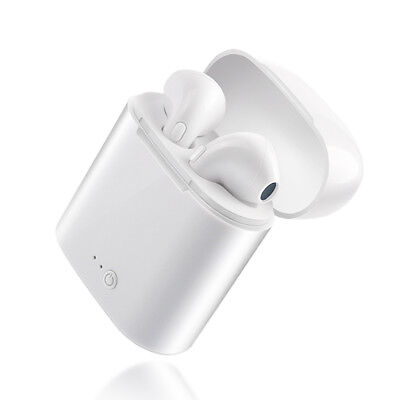 Wireless Bluetooth Earphones like AirPods True Stereo with Charger Box Phone