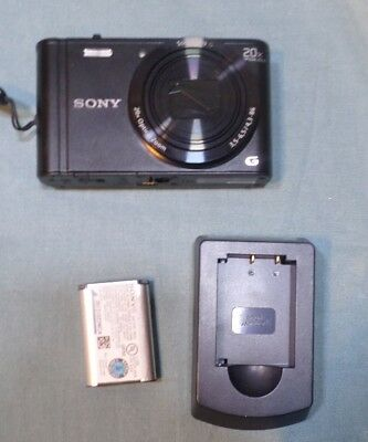 Sony Cyber-shot DSC-WX300 18.2MP Digital Camera - BLACK