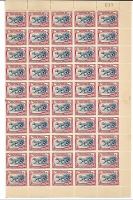 MOZAMBIQUE COMPANY 1937 Scott 184 MINT MNH OG 100 Stamps CV $30 USD