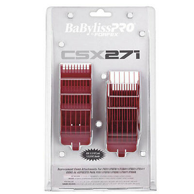 Babyliss PRO Red Clipper Comb Guide Attachment for FX811, FXF811, FXB811, FX671