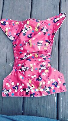 mickey mouse cloth diaper
