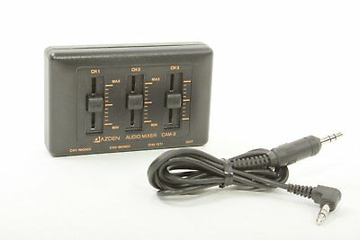 Used Azden 3-Channel Mic Mixer CAM-3