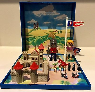 PLAYMOBIL #4333 MICRO World Set Knight's Castle COMPLETE Miniatures