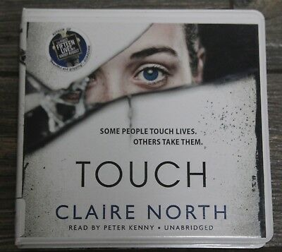 Touch Claire North Audiobook Book CD  MYSTERY THRILLER PARANORMAL SUPERNATURAL
