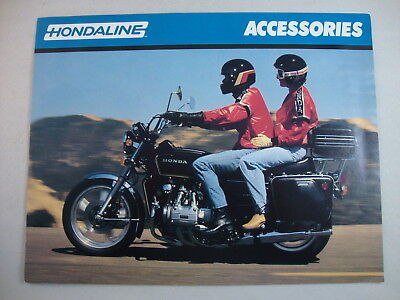 1979 Honda Hondaline Accessories Goldwing GL1000 CB750 Red Rocket Sales Brochure