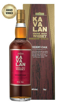 Kavalan Sherry Oak Single Malt Taiwanese Whisky 700ml(Boxed)