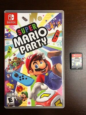 Super Mario Party for Nintendo Switch Great Condition!