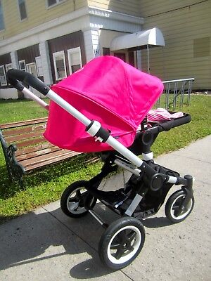 Bugaboo Buffalo Tailored Fabric Set 2013 - Pink