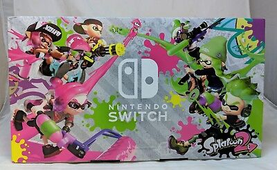Nintendo Switch Splatoon 2 Bundle Limited Edition Console Brand New Never Used