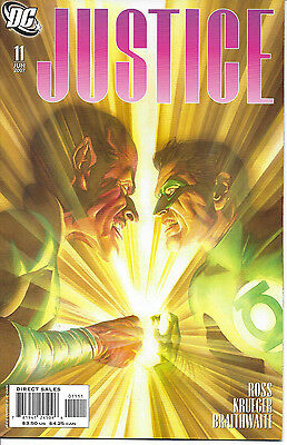 Justice, Alex Ross, #11, 2005 To 2007, Dc Comic,