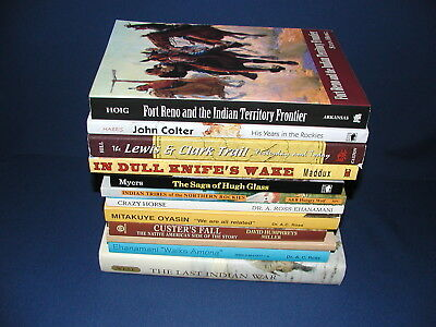 Lot of 12 books: Native American Indian History