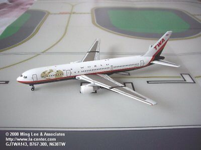 Gemini Jets Trans World Airlines Boeing 767-300 Last Color Diecast Model 1:400