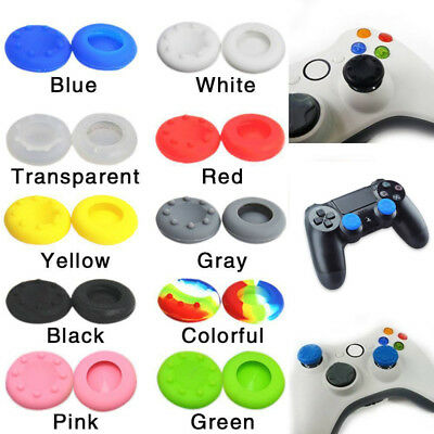 6X Controller Joystick Thumbstick Cover Caps Grips for PS4 Slim Pro XBOX ONE S X