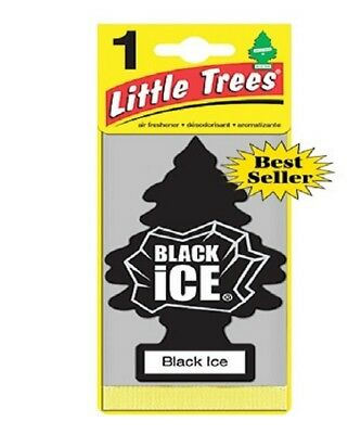Little Trees Black Ice Tree Air Freshener Home/Car Scent 12-24-48-96-144pc