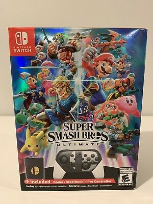 Super Smash Bros. Ultimate [SPECIAL EDITION] US Nintendo Switch BRAND NEW