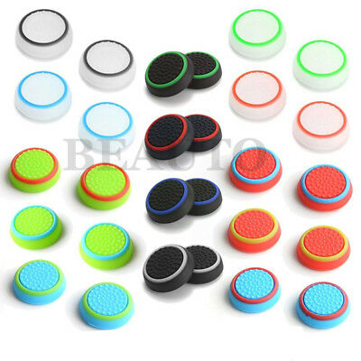 4x Analog Joystick Thumbstick Grip Caps Cover for PlayStation 4 PS4 Slim Pro