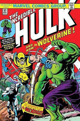 INCREDIBLE HULK 181 FACSIMILE EDITION VARIANT 2019 1st WOLVERINE PRE-SALE 3/20