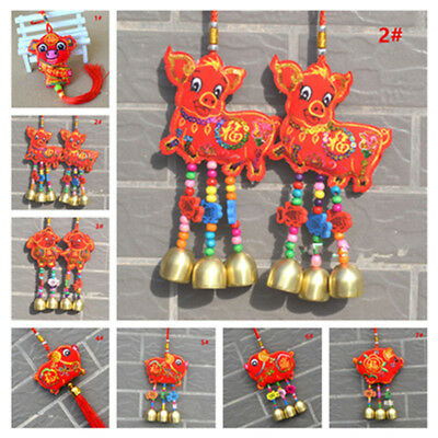 2019 Chinese New Year Lucky Bless Gold Rich Pig Decoration Home Car Safety