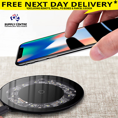 Baseus Wireless Charger Qi 10W Fast Charging for samsung S7 S6 edge Nokia google
