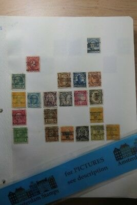 USA PRECANCELS MISSOURI HANIBAL to LUTESVILLE NICE LARGE COLLECTION