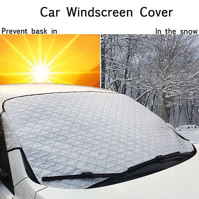 Windscreen Cover Magnetic Car Window Screen Shield Frost Snow Ice Dust Protector