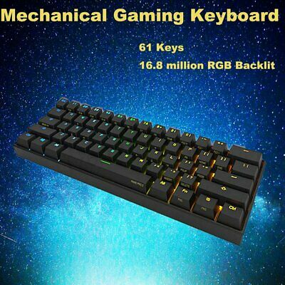 Anne Pro 2 Kailh BOX Brown Switch Bluetooth 4.0 RGB Mechanical Gaming Keyboard
