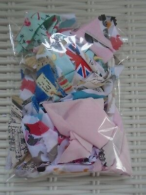Small Animal Bedding Fabric Scraps Up To 90 G Hamsters Gerbils Mice Rats Pets