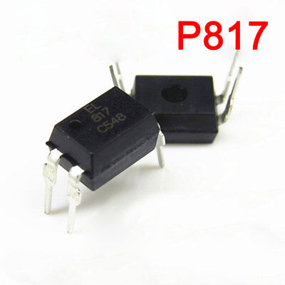 10x 817 EL817, LTV817, PC817 Transistor Output Optocoupler Photocoupler New