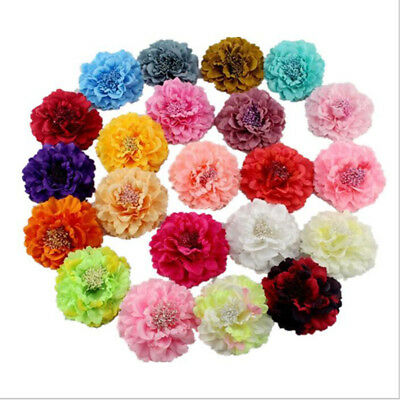 bc9395522 Peony Flower Hair Clip Band Wedding Bridal Bridesmaid Prom Party Hairpin  Brooch