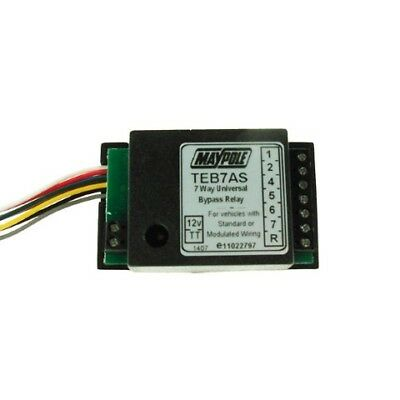 Maypole MP3877B 7 Way Universal Bypass Relay