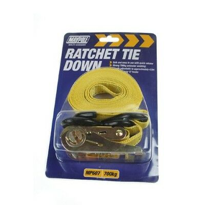 Maypole MP607 6Kg Ratchet Tie Down Strap