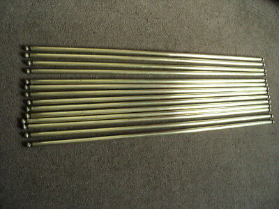 Set Of 14 Vintage Brass   Stair Rods And 28 Hinged  Brackets