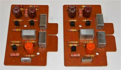 Pair of Quad 33 Amp Boards (Buffer Boards) - Working - Original & Unmolested